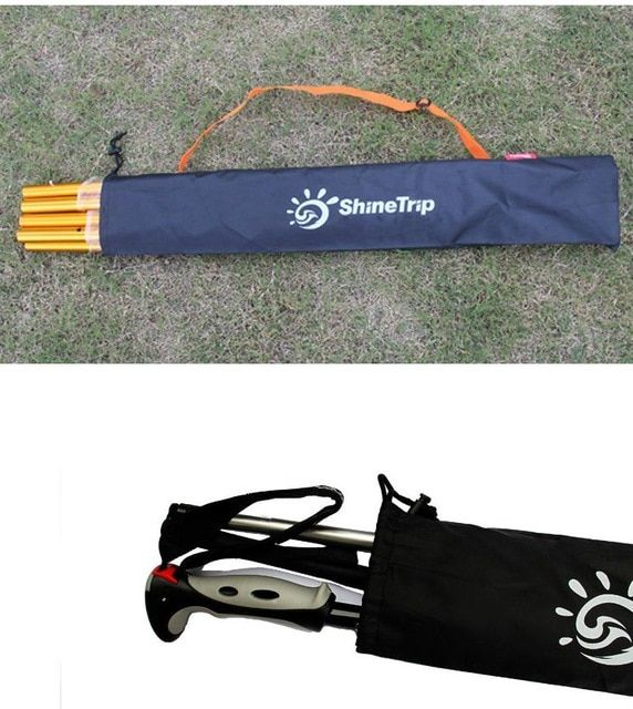 Shinetrip Outdoor Multi Purpose Walking Stick Curtain Rod Tent Pegs Storage Bag Cover Travel Bag Tent Accessory Review Tent Accessories Bag Storage Tent Pegs