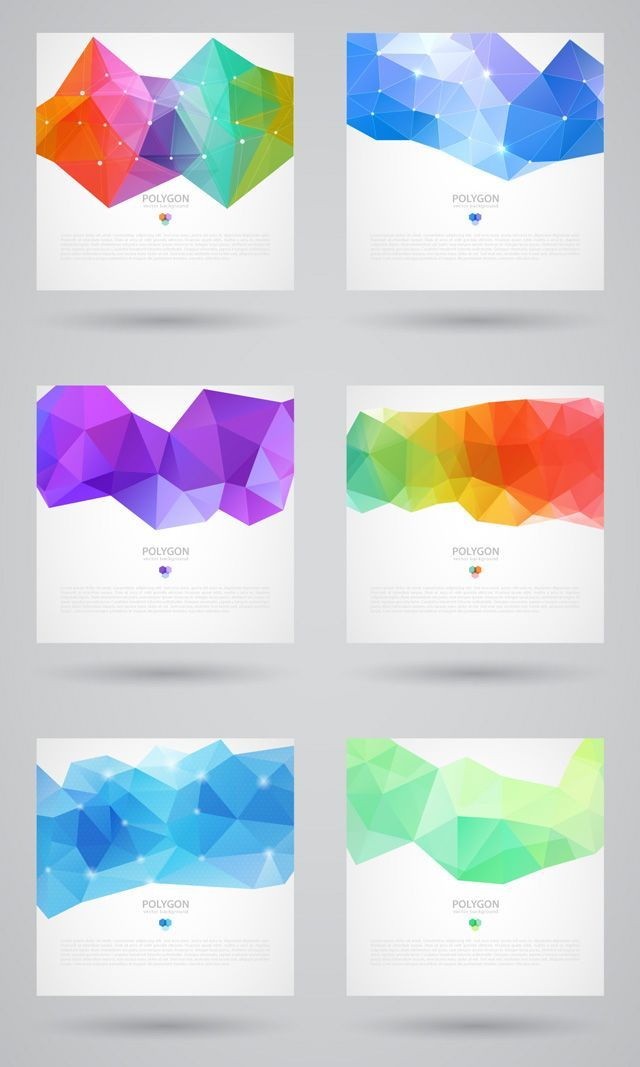 Exclusive Polygonal Backgrounds