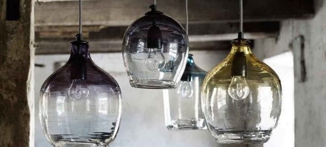 Lampy w stylu industrialnym. Lampy Ombre marki Nordal.