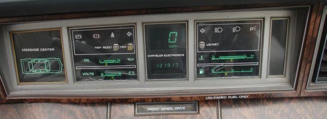"""1985 CHRYSLER LEBARON CONVERTIBLE """"Mark Cross Edition"""" for sale: photos, technical specifications, description"""