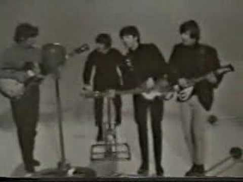 A Beatles Promo with a performance of I Feel Fine.  It's impossible for me not to sing along with this song!