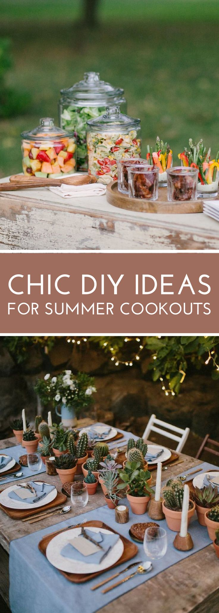 Elevate your summer cookout with these 15 easy, yet classy decor and presentation ideas!