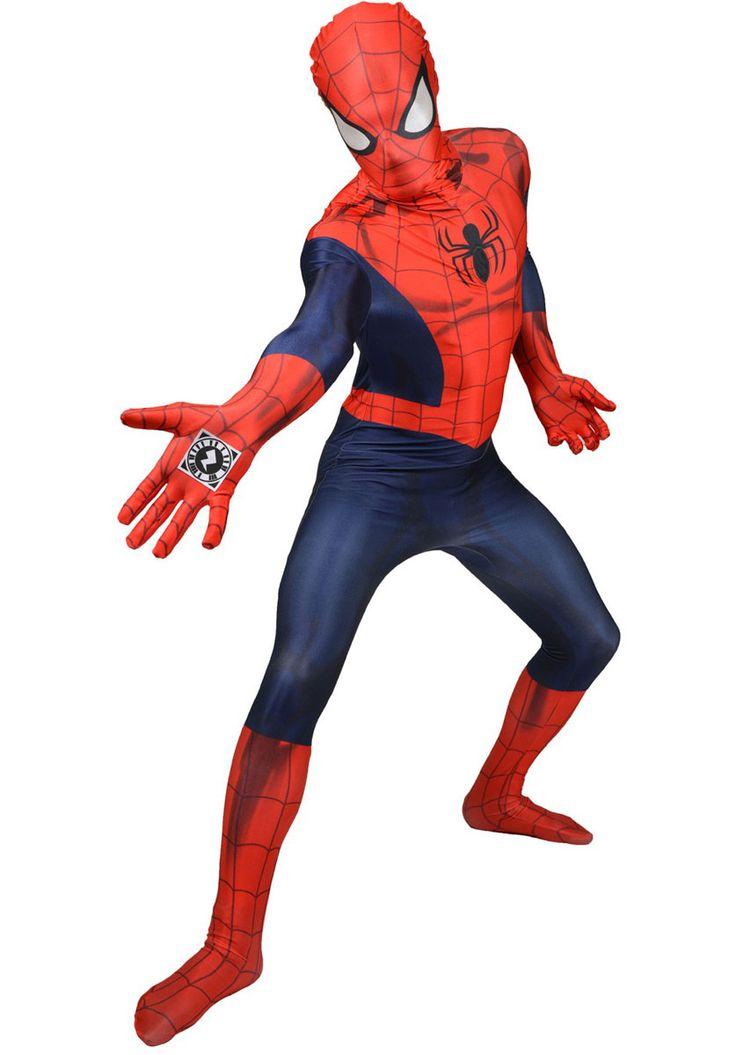 Spiderman Morphsuit Costume  Captain America Civil War -5896