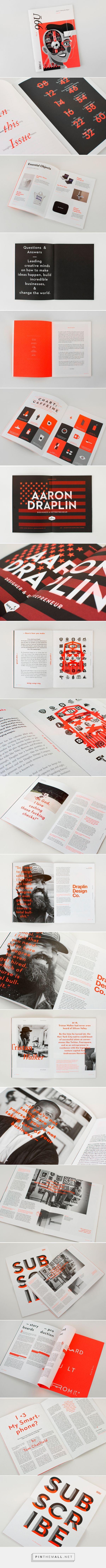 99U Quarterly — Issue 6 on Behance - created via https://pinthemall.net