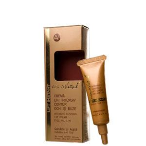 Intensive Contour Lift Cream-Eyes and Lips Gatuline and Clay AslaVital Farmec