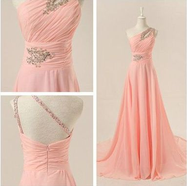 party Prom Dresses,chiffon prom dress,http://www.storenvy.com/products/15568581-pink-prom-dress-cheap-prom-dress-long-prom-dress-party-prom-dresses-chiffon