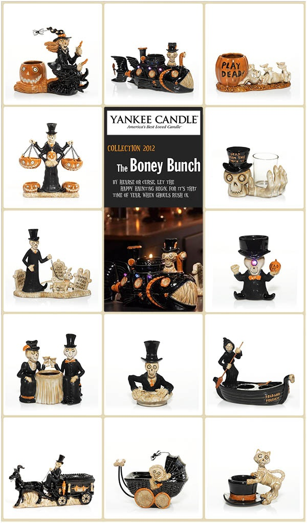 Yankee Candle 2012 Boney Bunch Collection