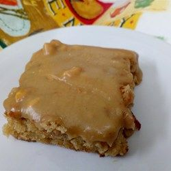 Michigan Maple Peanut Butter Sheet Cake - Allrecipes.com