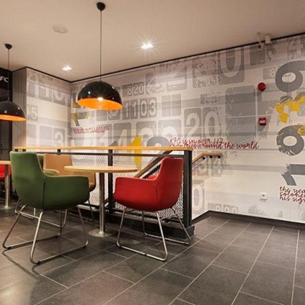 Kfc Restaurant By Cbte Mimarlik Turkey Retail Design: Design Showcase: New KFC Format For Turkey