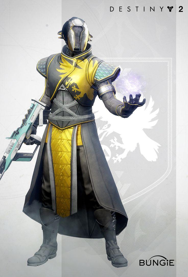ArtStation Destiny 2 Wise Warlock reveal gear, Rosa Lee