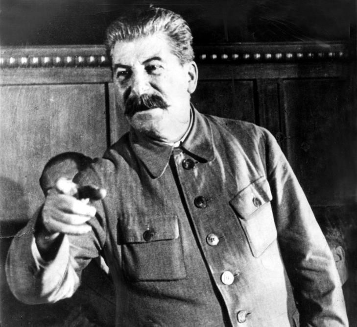 I DO NOT SUPPORT STALIN!! IT IS A HISTORICAL PICTURE!!!    Many of Joseph Stalin's evil deeds in the 30's went unreported in the USSR. Grabbing Lenin's mantle in 1926, at 47, he collectivized farms; the ensuing famine may have killed 10 million. In 1934, with Leon Trotsky banished, Stalin had his last rival, Sergey Kirov, murdered. Still ahead: the Great Purge of 1936-1938, which claimed up to 10 million more.