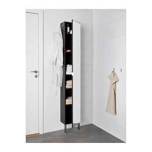 Mirror Door Beige Bathroom Ideas Decor, Ikea Mirror Cabinet Tall