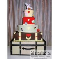 pilot flight attendant wedding cake toppers 17 best images about flight attendant cake on 18522
