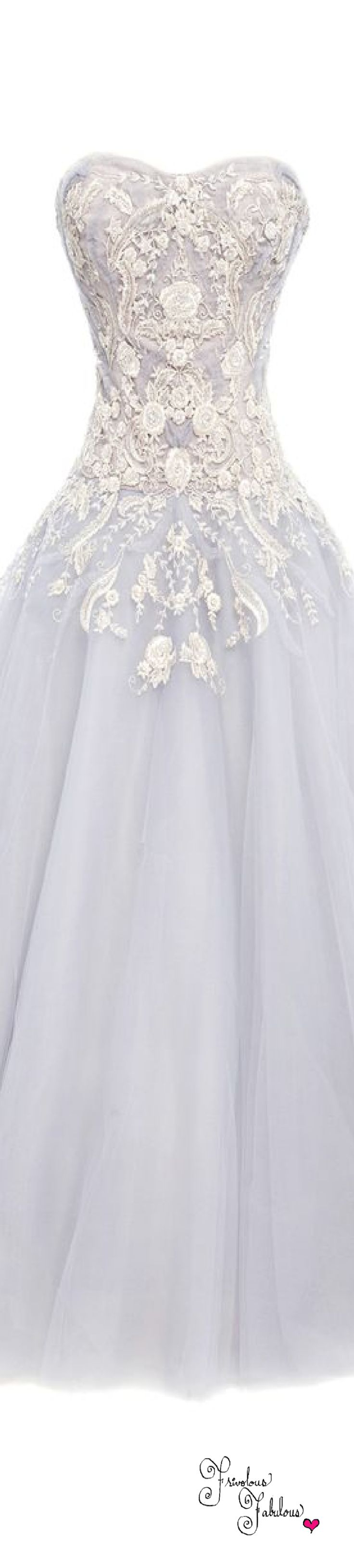 Frivolous Fabulous - Marchesa Spring Summer 2016 Wedding Gown Inspiration