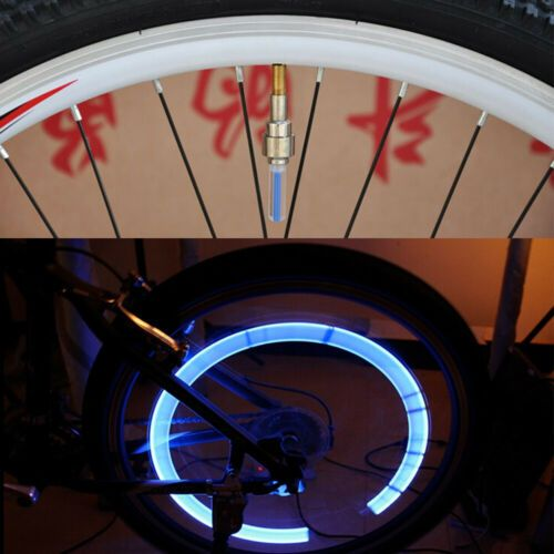 Details About Blue Led Motorcycle Cycling Bike Bicycle Wheel Tyre