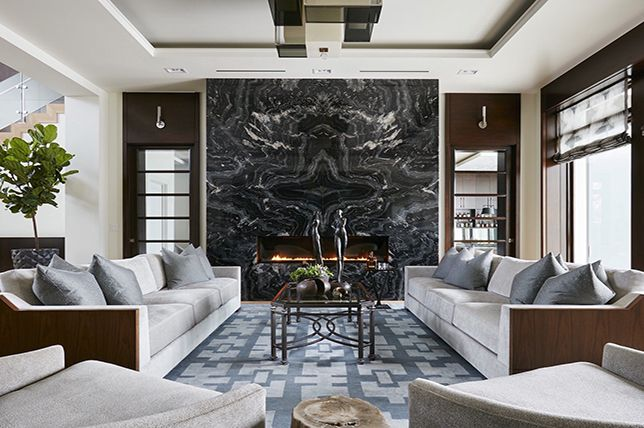 The Best Interior Design Trends For 2019 Fireplace Design
