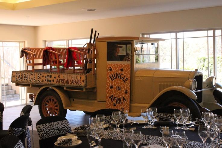 #car #safari #birthday #birthdayparty #leopardprint #sashes