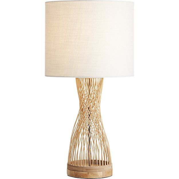 Rattan Table Lamp Cb2 Boho Table Lamps Table Lamps For Bedroom Rattan Lamp