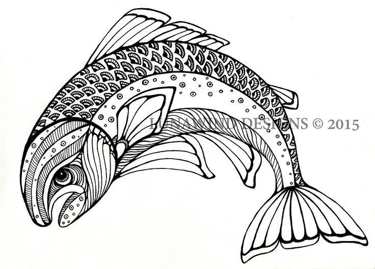 trout fish fishing lunawind adult