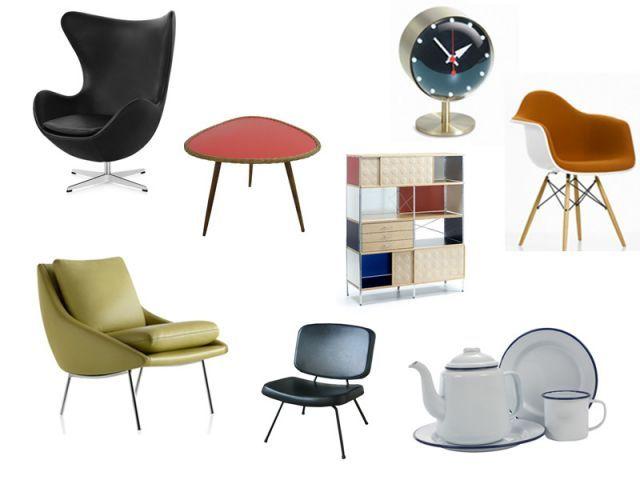 Le design années 50, entre fonctionnalité et originalité.