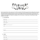 Use this adaptable poetry scavenger hunt worksheet to allow students ...