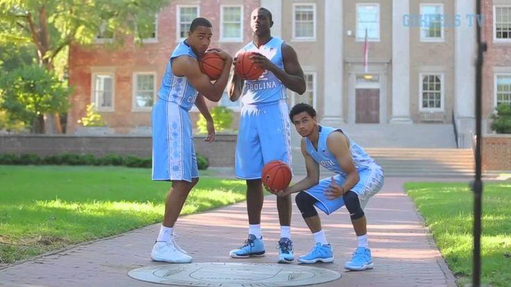 UNC Men's Basketball: Senior Photoshoot on The Quad