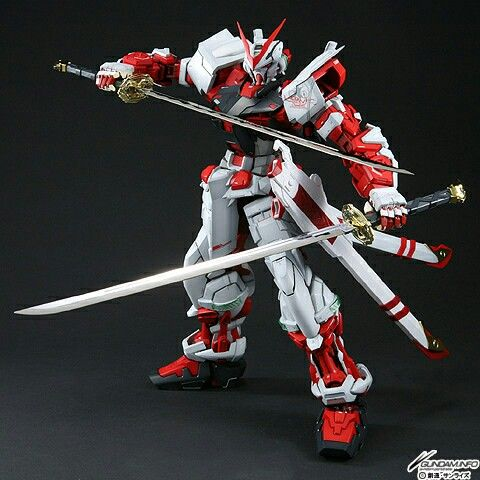 Gundan Astray Red Frame Model Kit