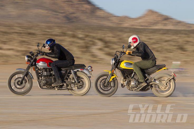 Ducati Scrambler Icon vs. Triumph Scrambler: Comparison Test