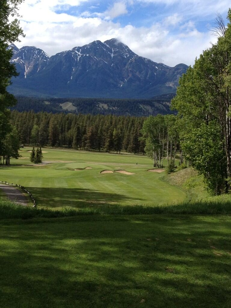 Jasper Park Lodge in Alberta, Canada.