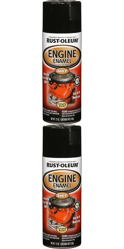 Other Handcrafted Home Accents 160657: Gas And Oil Resistant Gloss Black Engine Enamel Spray Paint 12Oz By Rust Oleum -> BUY IT NOW ONLY: $101.95 on eBay!