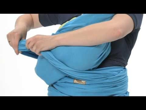 www.babymaxi.fr: Mode d'emploi pour l'écharpe Tricot Slen de Babylonia - Portage en berceau