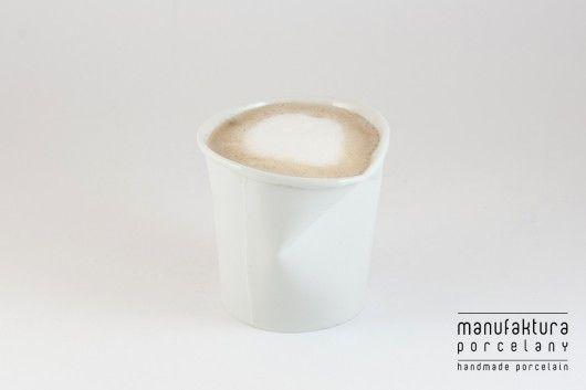 Kubek Paper Cup S - biały