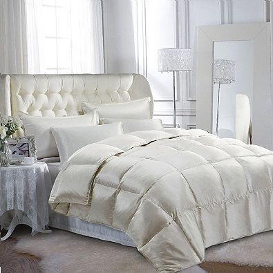 buy wamsutta collection fullqueen silk goose down comforter from at bed bath u0026 beyond indulge in ultimate luxury when you dress your bed with this silk