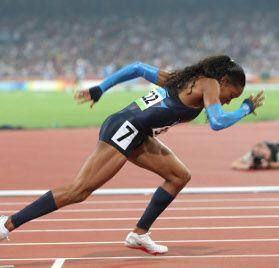Team USA - Sanya Richards-Ross