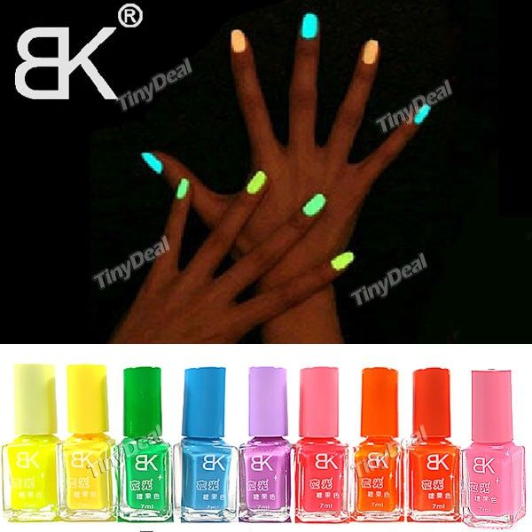 (BK) 7ml Neon Fluorescent Non-toxic Nail Polish Nail Varnish Lacquer Paint Nail Art for Lady Girl http://www.tinydeal.com/bk-7ml-neon-px250pz-p-98818.html