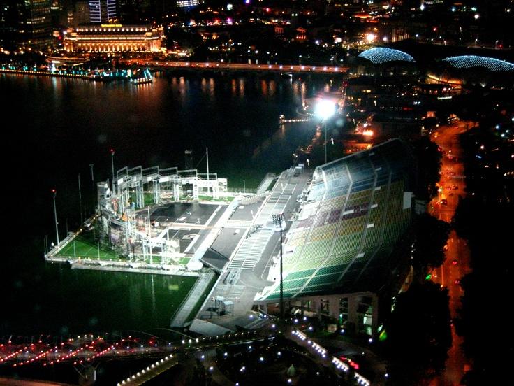 The Float at Marina Bay, Singapore  (Floating Stadium)