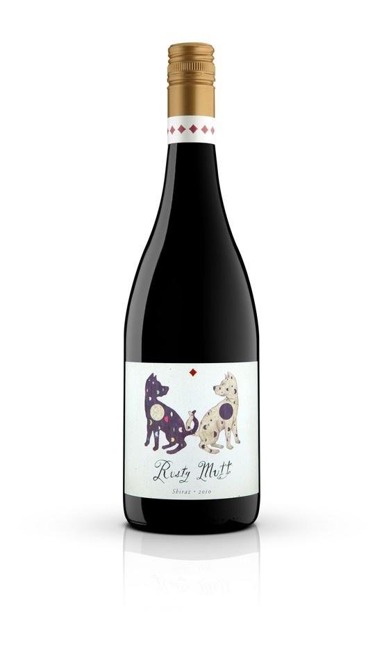 2010 Rusty Mutt McLaren Vale Shiraz. 4 Stars (Winestate), 91 pts (Wine Showcase mag) $23.50