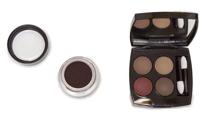Chanel les quatre ombres - Candeur et Expérience (268) et fard à paupière crème Rouge Contraste