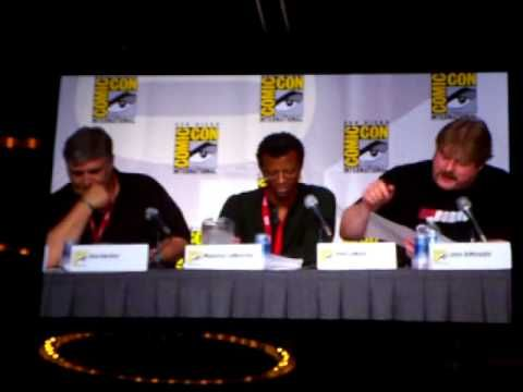 San Diego Comic-Con 2010, the majority of the cast (Billy West, John Dimaggio, Lauren Tom, Katey Sagal, Phil LaMarr, and Maurice LaMarche) do a Table read of an episode