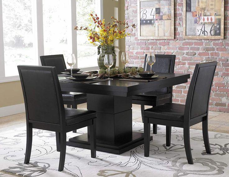 black kitchen table sets  kw home design,Black Kitchen Table Sets,Kitchen ideas