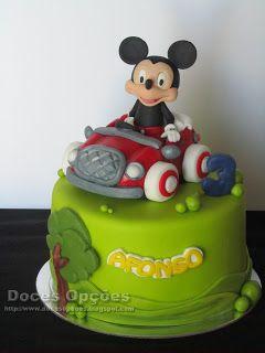 Doces Opções: O Mickey foi de carro ao 3º aniversário do Afonso