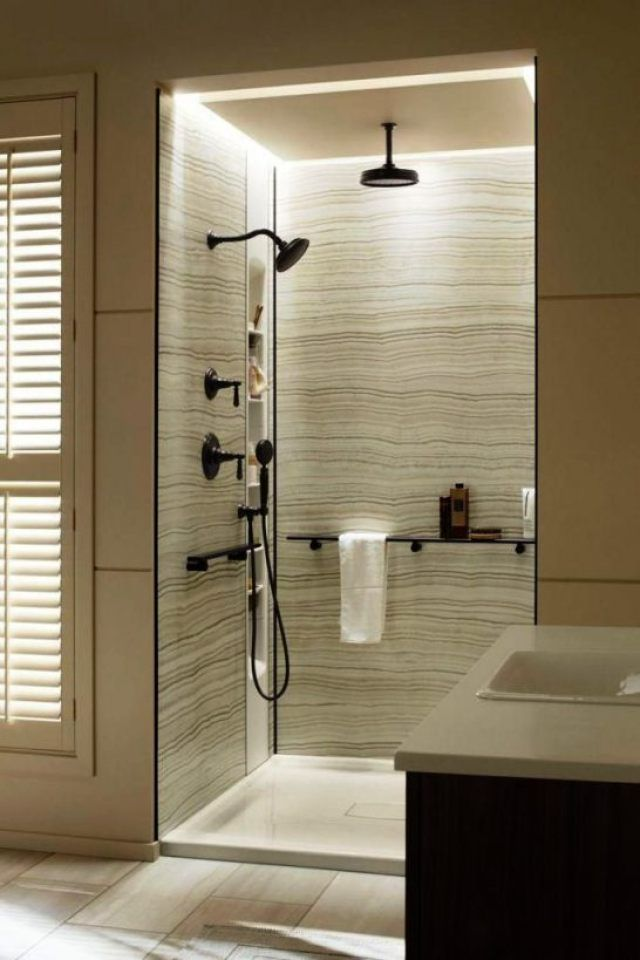 Pin By Serra Guler On En Suite S Tiled Bath Panel Bath Panel Bathroom Paneling