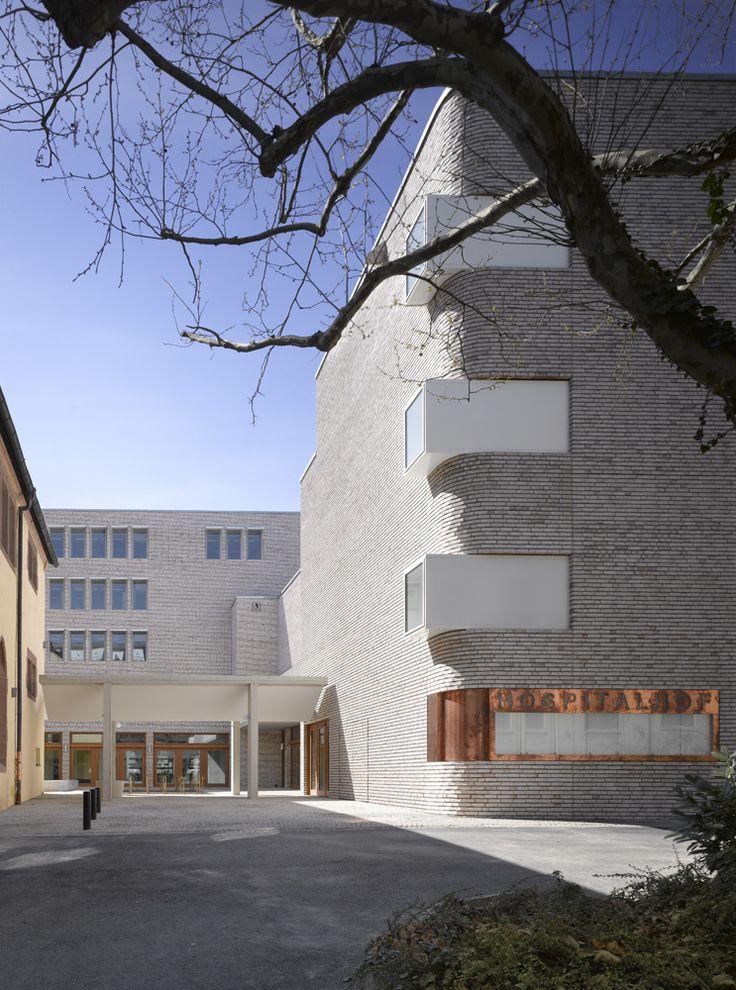 Neubau Hospitalhof Stuttgart | Lederer Ragnarsdóttir Oei