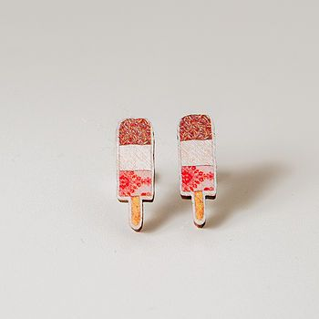 Fab ice lolly earring by Jodie Anna on Not on the high street.