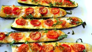 Oven Baked Zucchini Boats Recipe