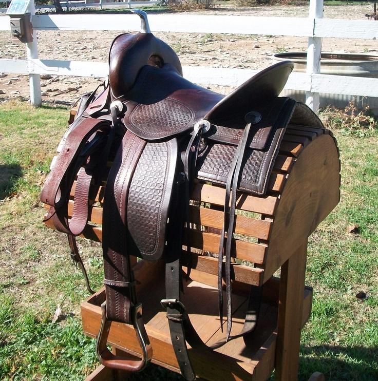 This antique (circa 1880 - 1920) Padgitt Brothers saddle ...