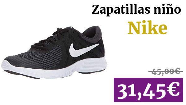 Nike Revolution 4 (GS), Zapatillas de Running para Niños