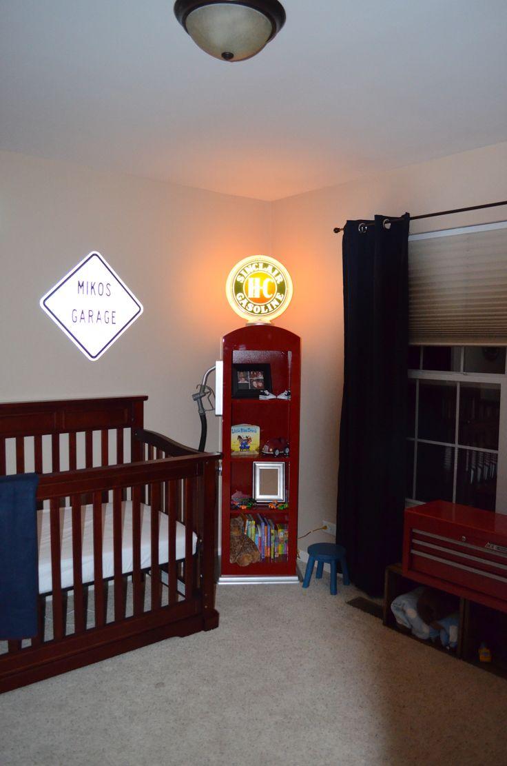 Gas Pump Shelf- the perfect