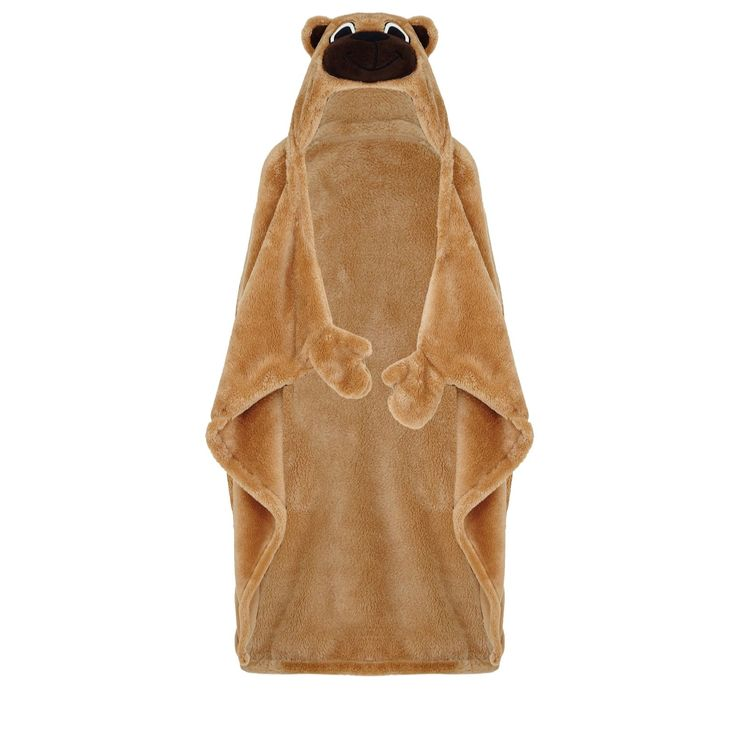 805256 Cozee Home Cuddly Buddy Children's Hooded Blanket  QVC PRICE: £20.00 + P&P: £3.95