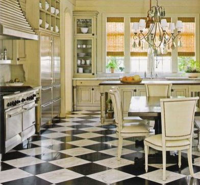 23 best house: kitchen checkerboard floors images on pinterest